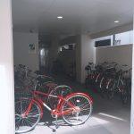 ◆1階入り口にある駐輪スペースです◆